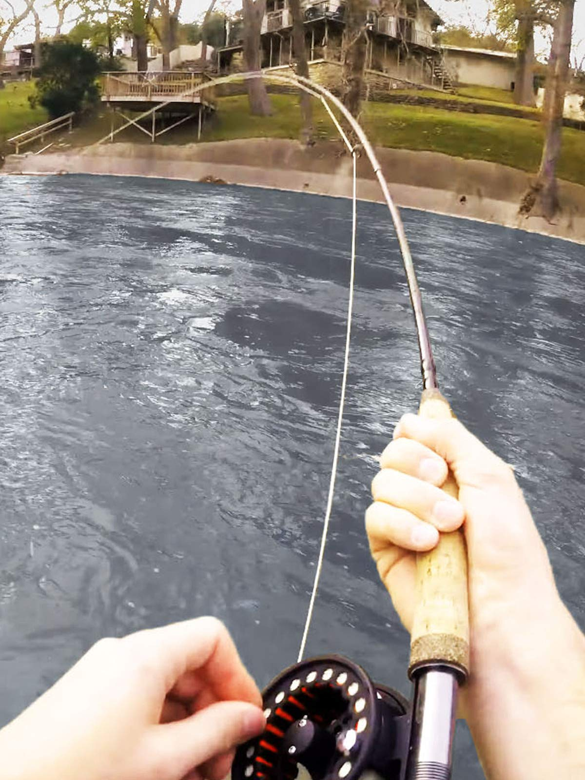 Clip: Fly Fishing the Guadalupe River for Texas Rainbow Trout
