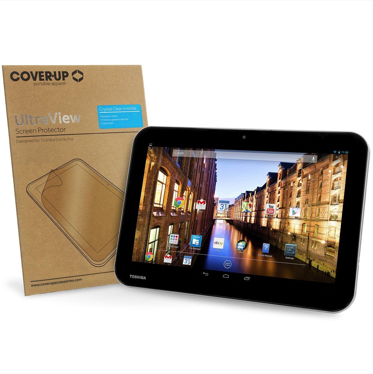 Cover-Up Ultra View - Protector de pantalla para tablet Toshiba Excite Pro de 10,1 (2 unidades)  Informática revisión y más información