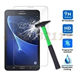 LTROP Tempered Glass Screen Protector for Samsung Galaxy Tab A 7.0 (SM-T280 /SM-T285) Tablet, 9H Hardness, Crystal Clear, Anti Fingerprint, Scratch Resistant, Bubble Free