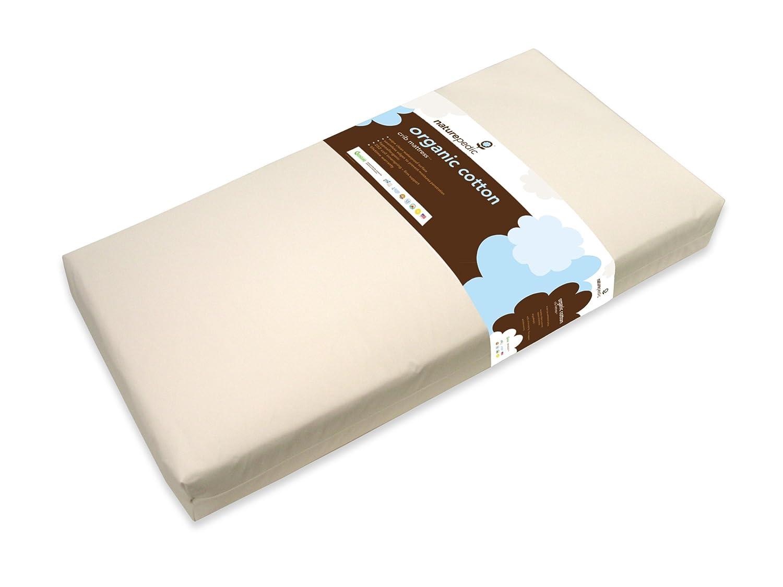 Baby crib mattress comparison - Naturepedic No Compromise Organic Cotton Classic 150 Seamless Dual Firmness Crib Mattress