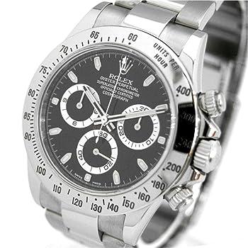 ROLEX 腕時計 コスモグラフ デイトナ ブラック 116520 メンズ [並行輸入品]