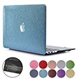 PapyHall Bling Glitter Design Rubberized Coated Plastic Case MacBook Pro 15