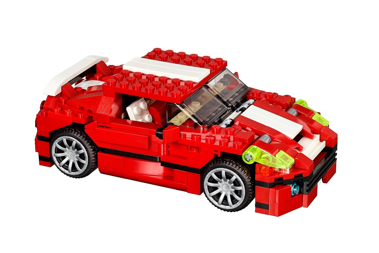 Lego 31024 Le Bolide Rouge Briqueo