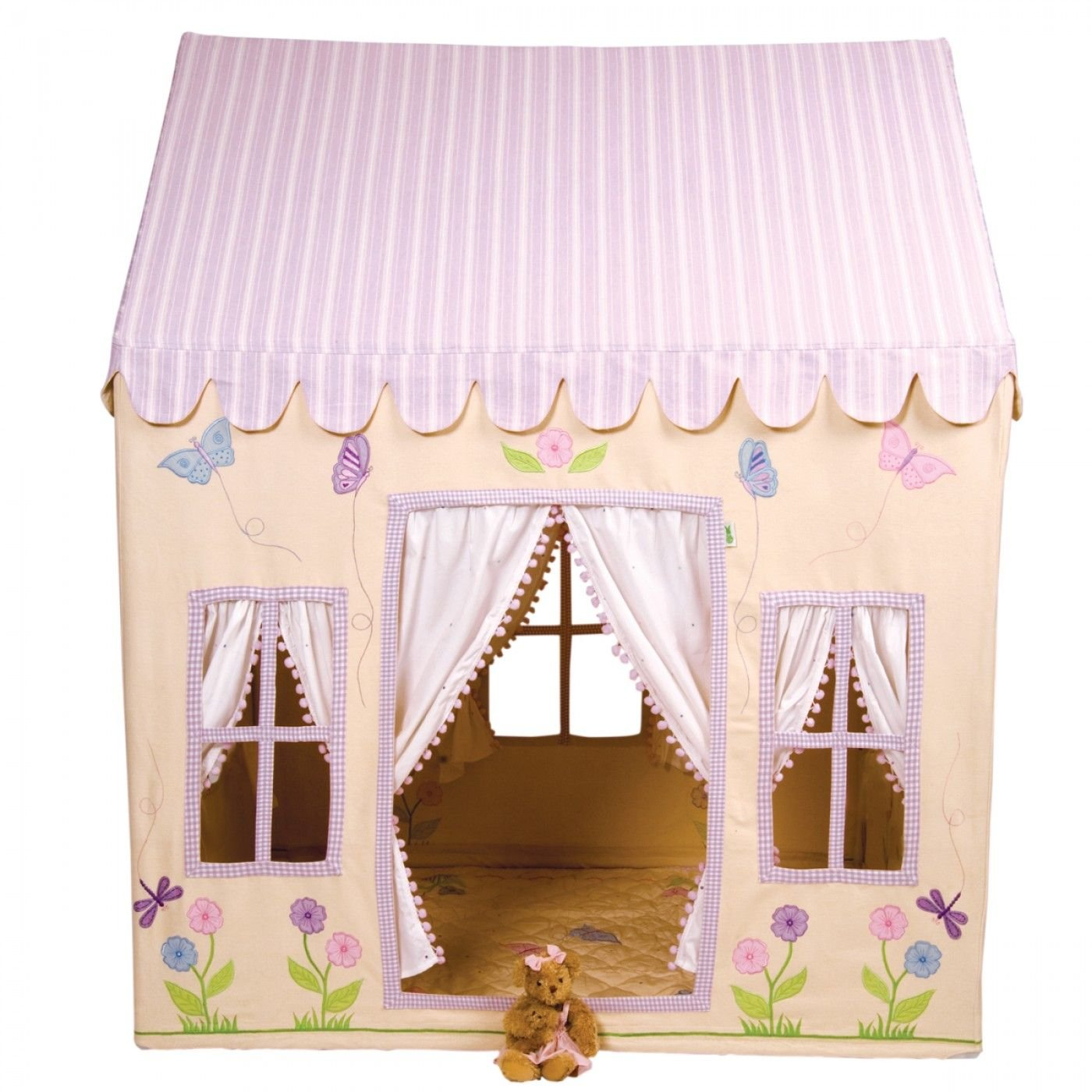 Spielzelt Schmetterlingshaus Größe: 110 cm H x 110 cm B x 74 cm T jetzt kaufen