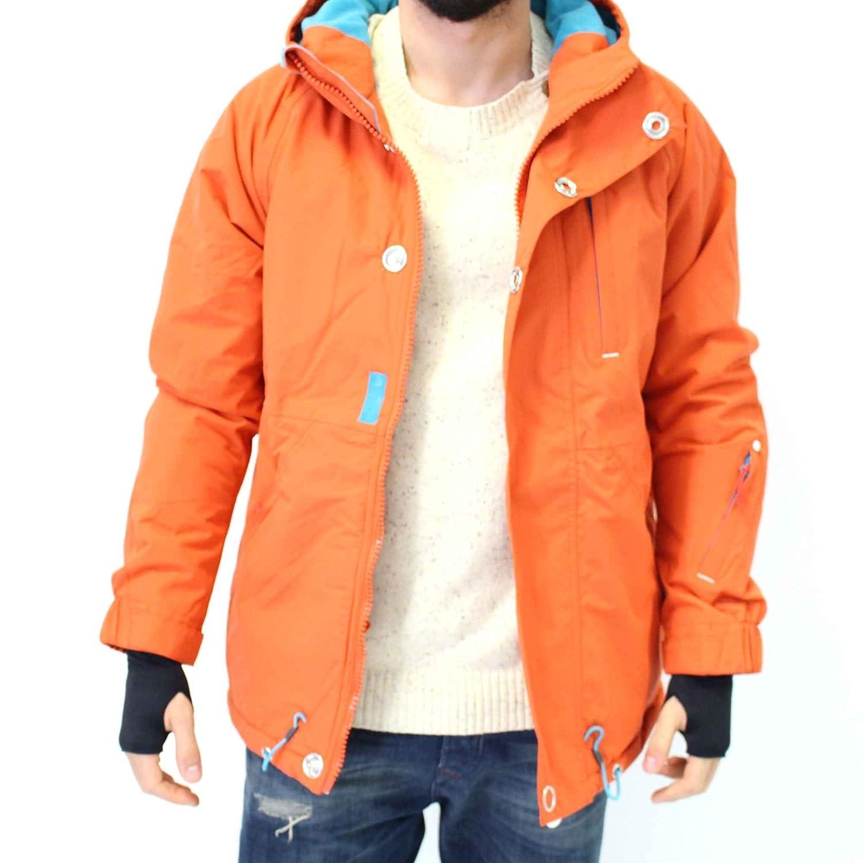 HUMÖR Herren Winterjacke FULLON JACKET in Orange günstig