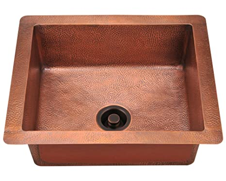 MR Direct 904 Single Bowl Copper Sink