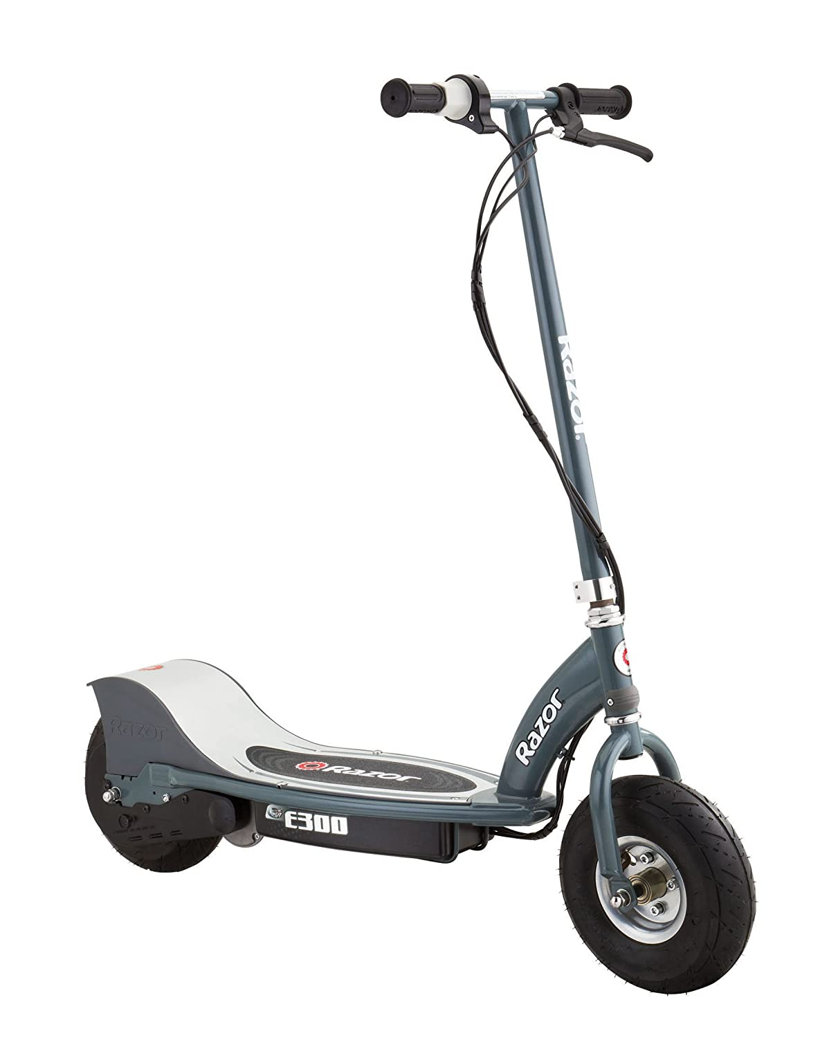 electric scooter bike gray teens adults motorized bicycle