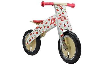 Kiddimoto - 916/612 - Vélo et Véhicule pour Enfant - Kurve Cherry