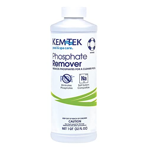 Kem-Tek KTK-50-0001 Pool and Spa Phosphate Remover 1 Quart