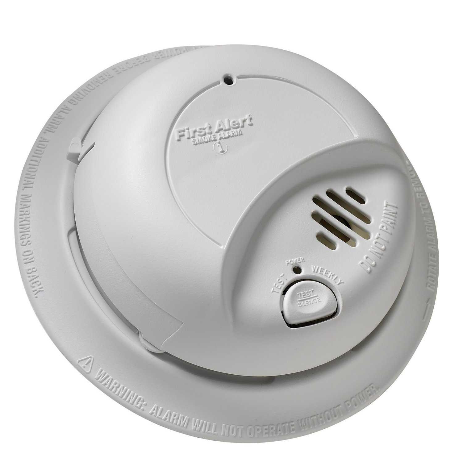 First Alert Alarm Fire Smoke Safe Combination Hardwired