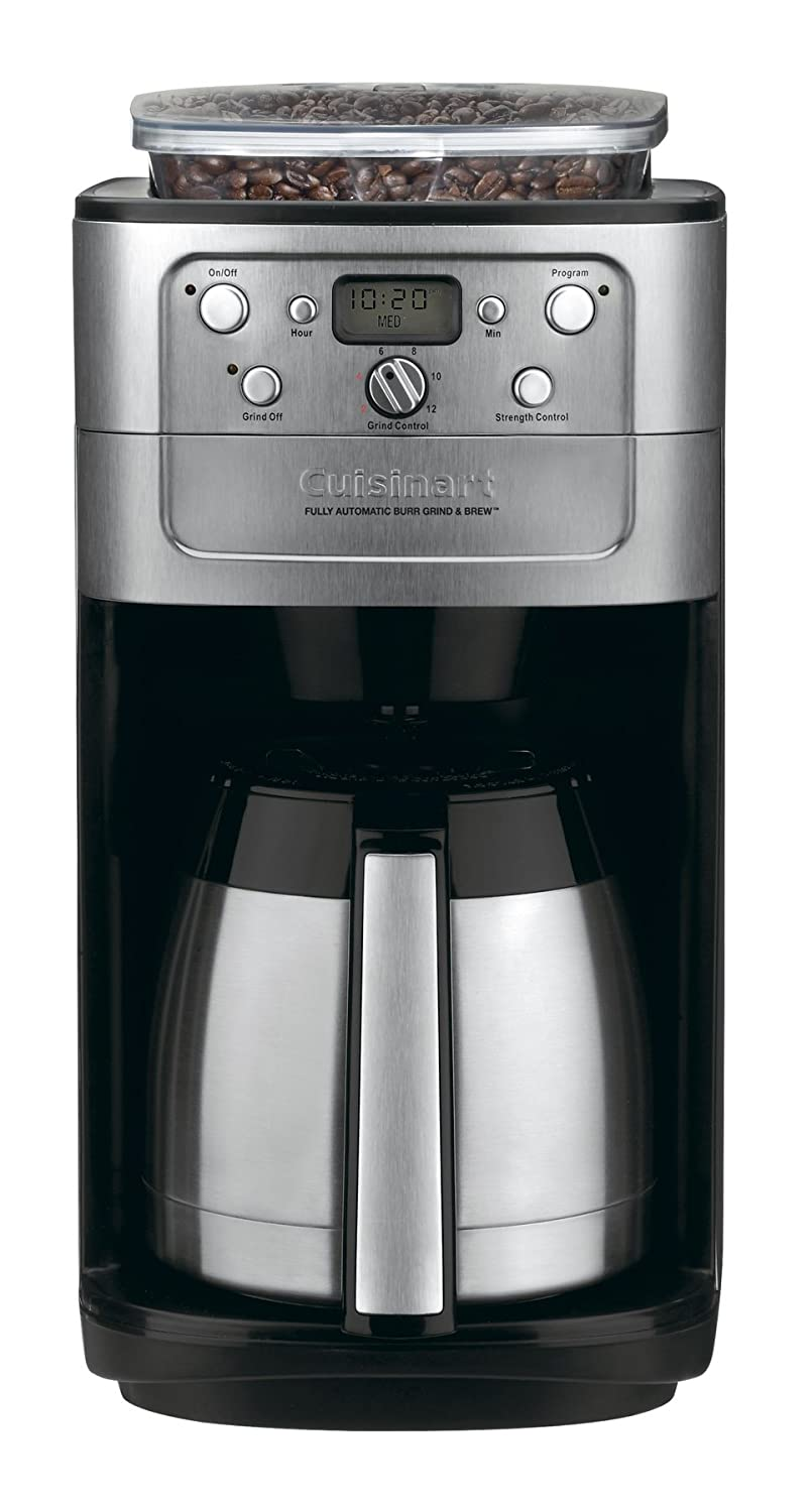 Cuisinart Coffee Maker With Grinder Leaking : Cuisinart DGB-900BC Grind and Brew Thermal 12-Cup Automatic Coffeemaker, Brushed 68459244925 eBay