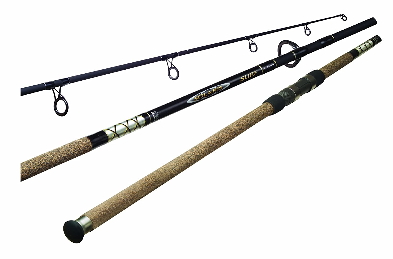 Okuma solaris surf fishing rod ss c 1202mh 1 black 12 for Okuma fishing rods
