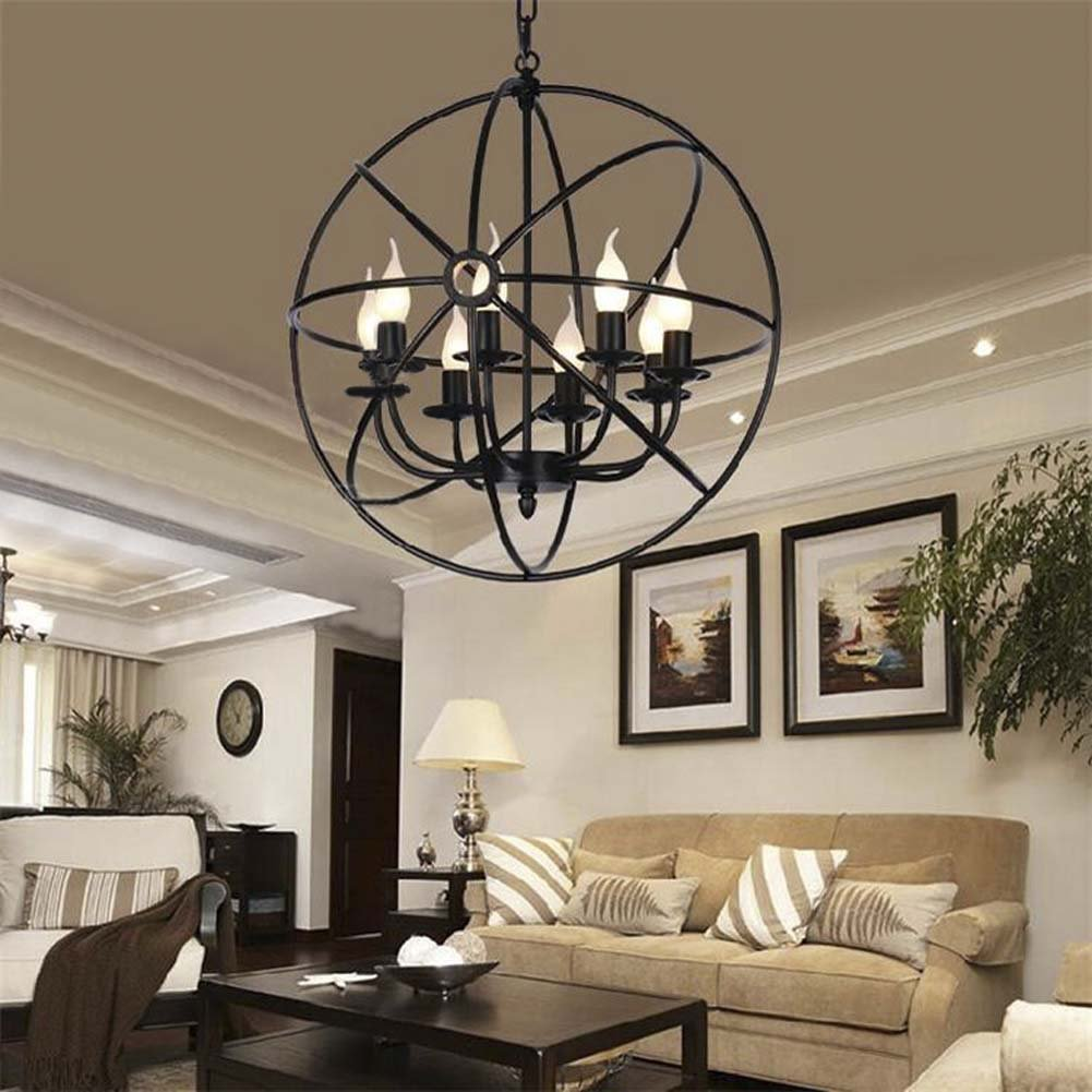 Industrial Vintage Retro Pendant Light - LITFAD 21