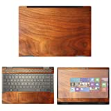 decalrus - Protective Decal Wood Skin Sticker for HP Envy X360 13M-AG0001DX (13.3