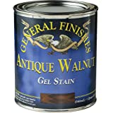 General Finishes AH Gel Stain, Half pint, Antique Walnut (Color: Antique Walnut, Tamaño: 1 Half-Pint)