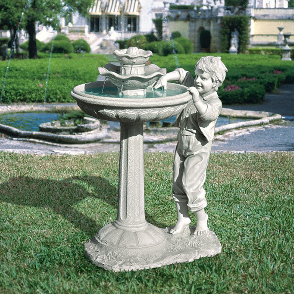 Children Sculpture Fountains Water Fountains With