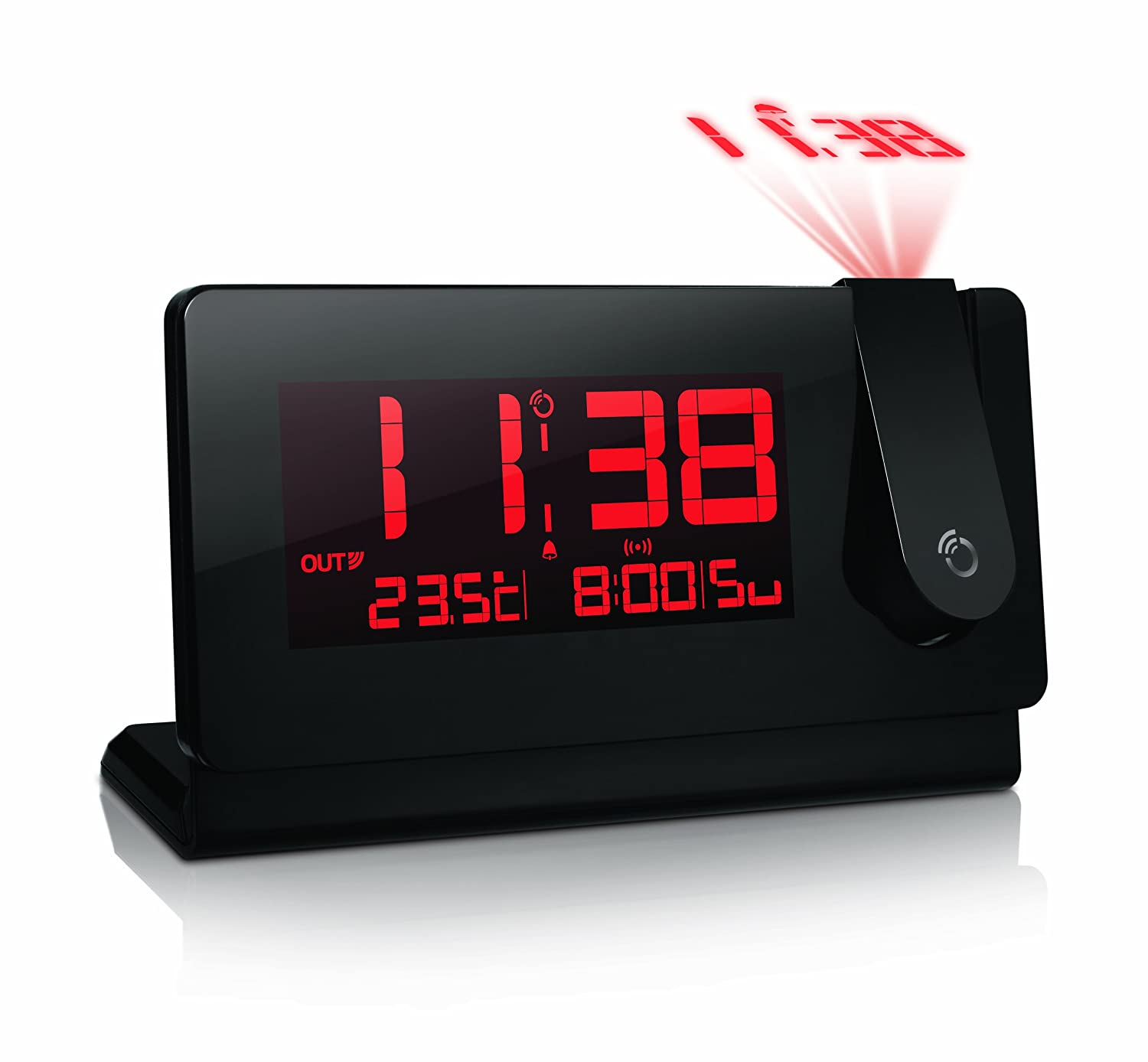 projection clock radio Projection alarm clocks showing 40 of 215 results that match your query search product result  emerson smartset alarm clock radio with bluetooth speaker & charging station, er100102 product image  entry level projection alarm clock by la crosse technology product image price $ 17 42.