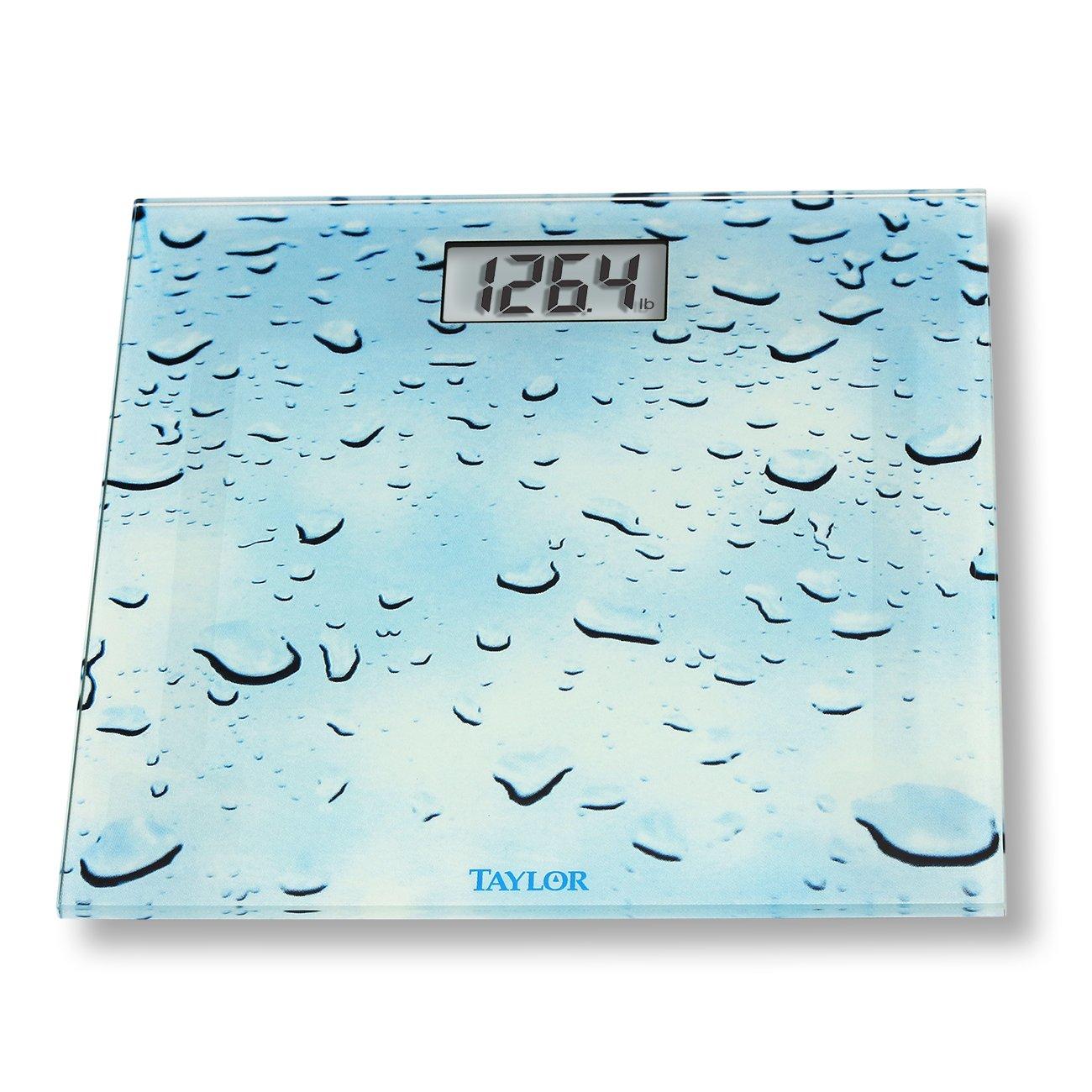 Taylor 755841034WD Glass Digital Bath Scale