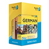 Learn German: Rosetta Stone Bonus Pack (24 Month Subscription + Lifetime Download + Book Set)