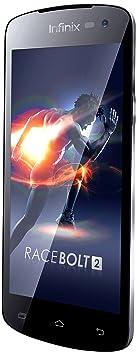 Infinix Race Bolt 2 X454 Smartphone débloqué 4G (Ecran : 4.5 pouces - 8 Go - Double SIM - Android 4.4) Bleu