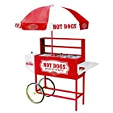 Nostalgia 48-Inch Hot Dog Vending Cart