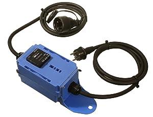 as  Schwabe 60743 MIXO Stromzähler, blau, MID geeicht, 230V, 3m H07RNF 3G2,5, IP44 Gewerbe, Baustelle  BaumarktKundenbewertung und weitere Informationen