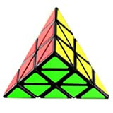 RMXZH Pyramid Speed Cube Puzzle, Black