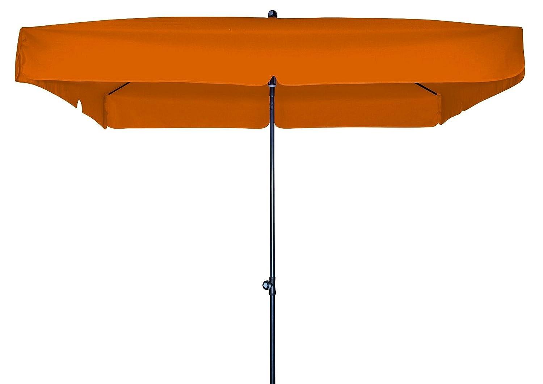 Doppler Gartenschirm Sun Line III 200×200 quadratisch mit UV-Schutz 50, Farbe umbra online bestellen