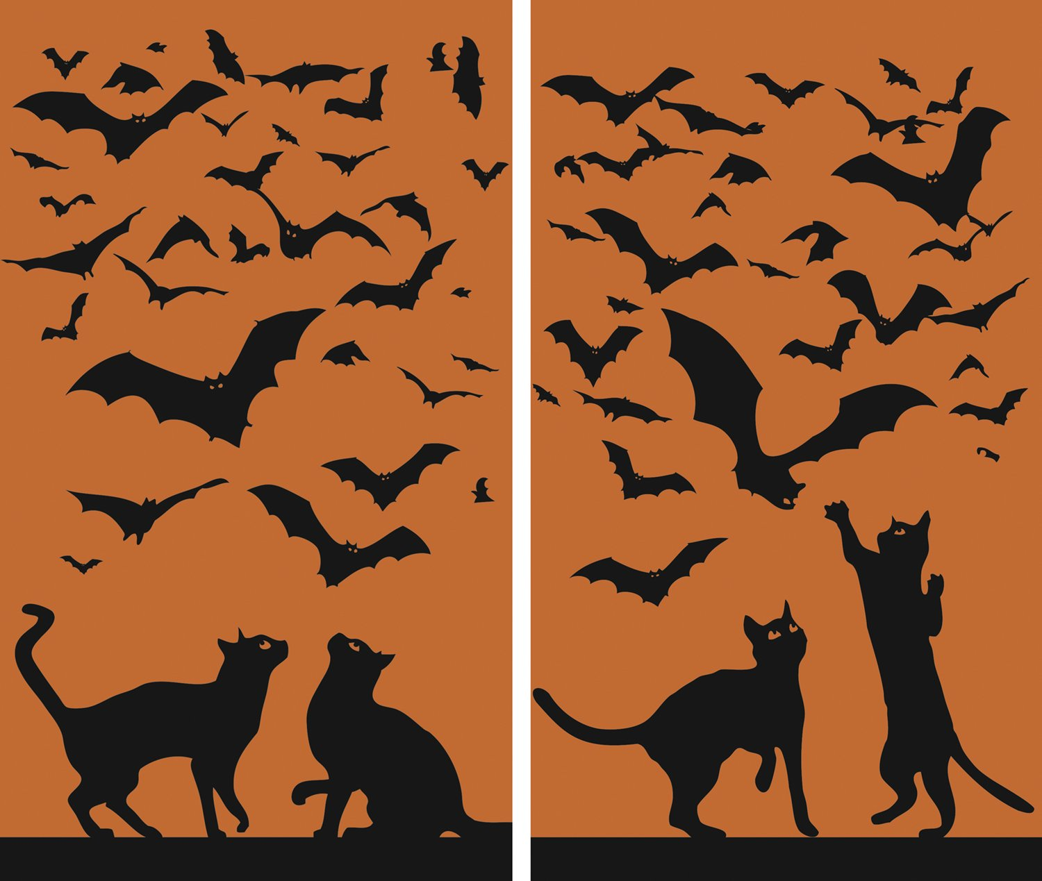 halloween window decorations page one halloween wikii - Halloween Window Decoration
