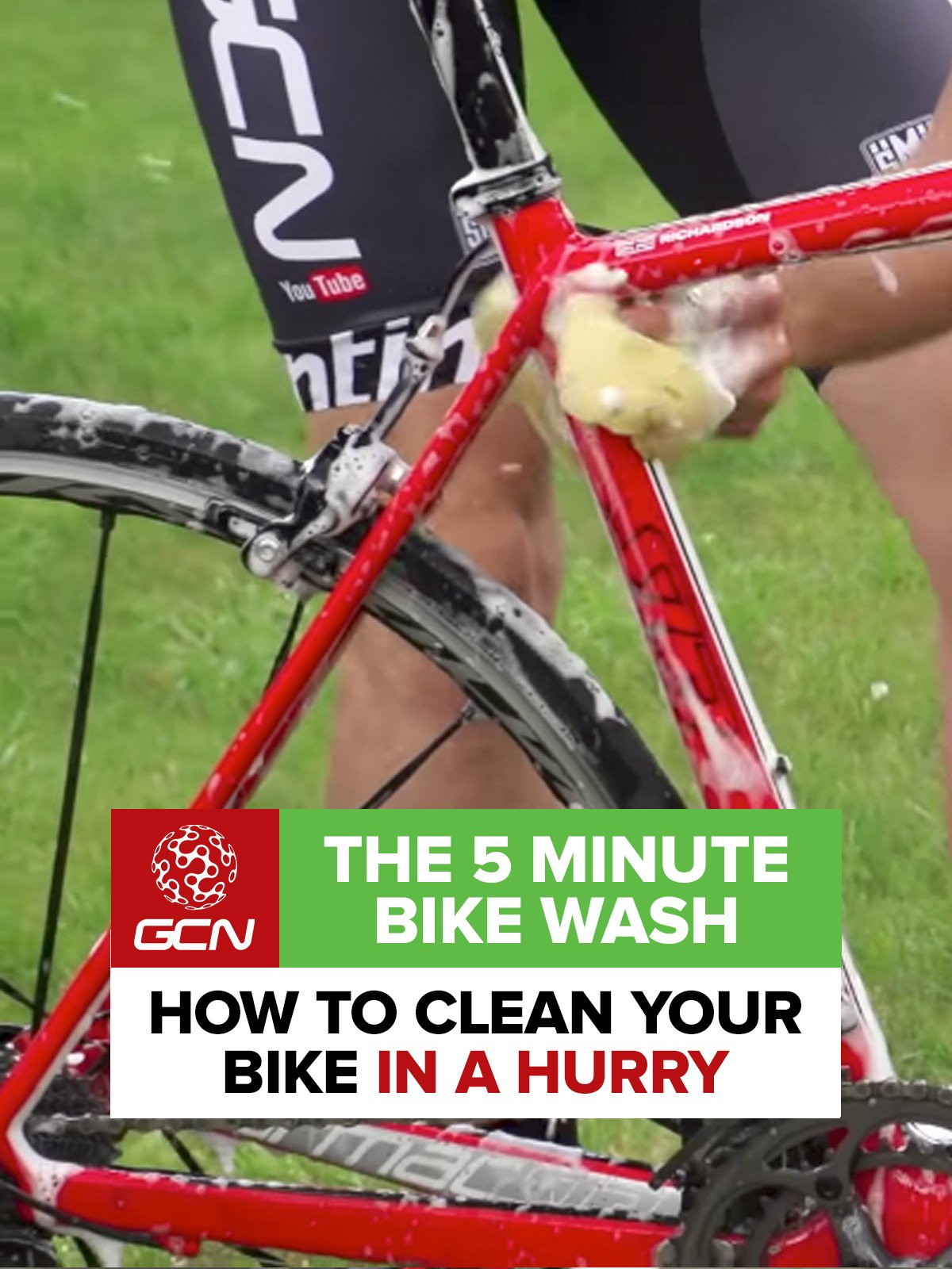 The 5 Minute Bike Wash