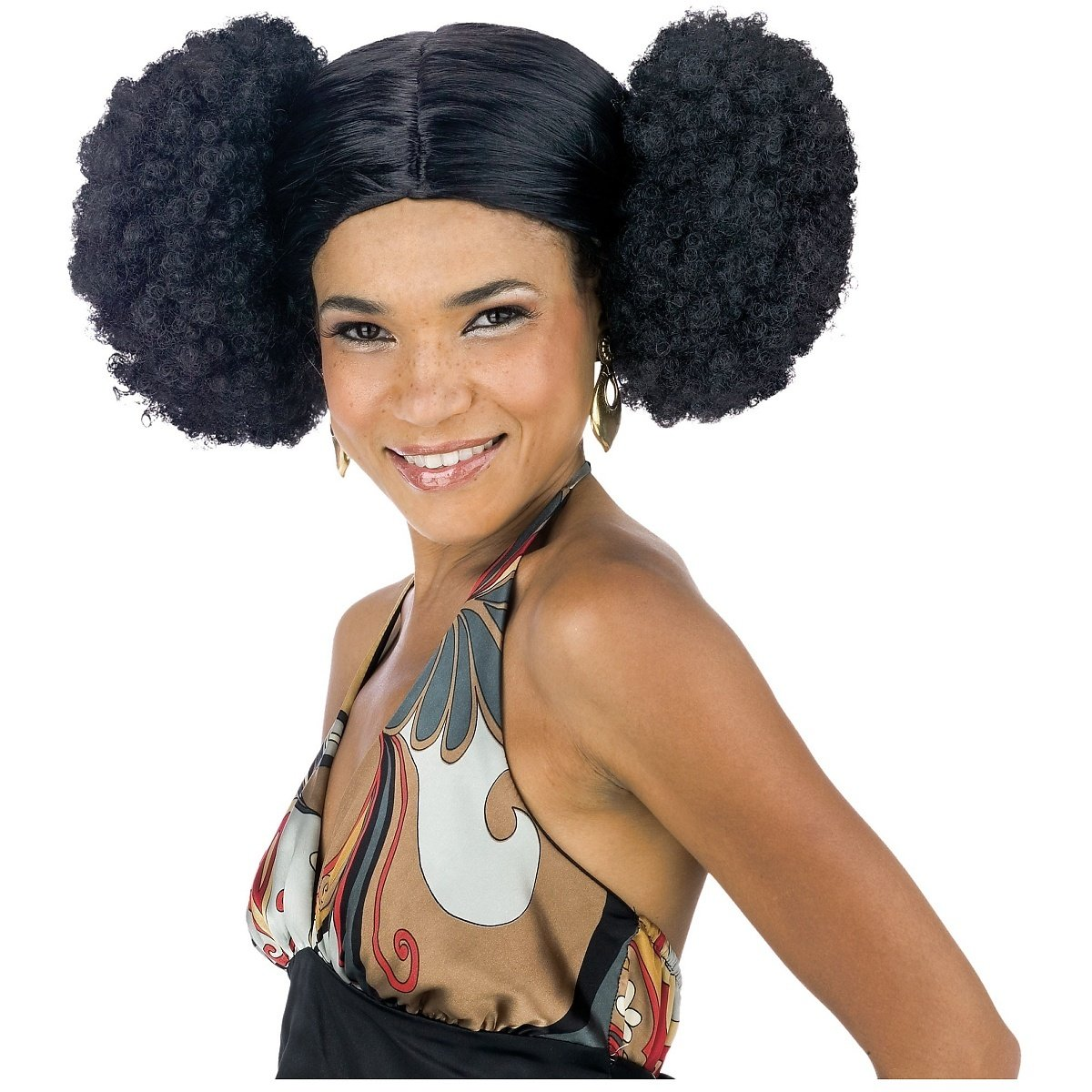 Afro Puffs Drawings Amazon.com Afro Poof Wig