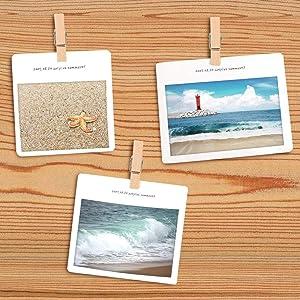 50Pcs/Set Push Pins with Wooden Clips Pushpins Tacks Thumbtacks for Cork Boards Artworks Notes Photos and Craft Projects (Color: Original)