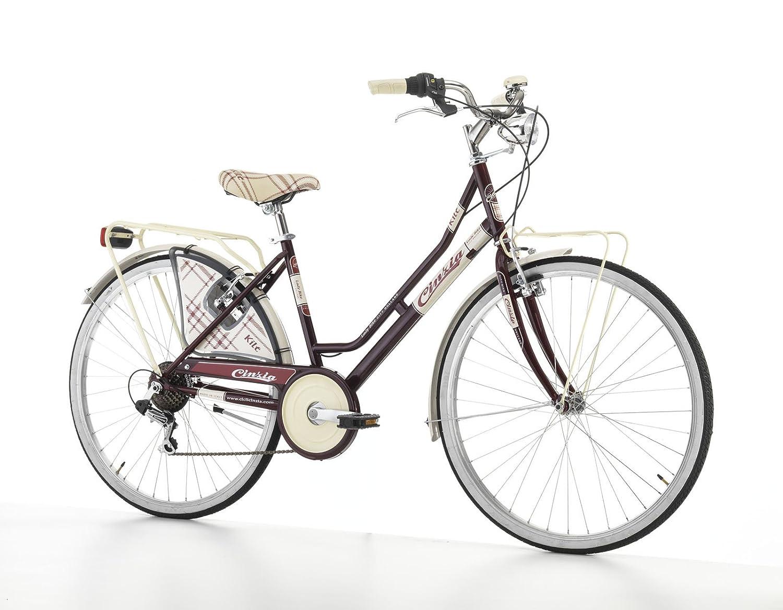 Bicicleta de paseo urbana estilo clásico