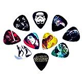 Star Wars Guitar Picks [10 perfectly printed medium picks in a packet] (Tamaño: Regular)