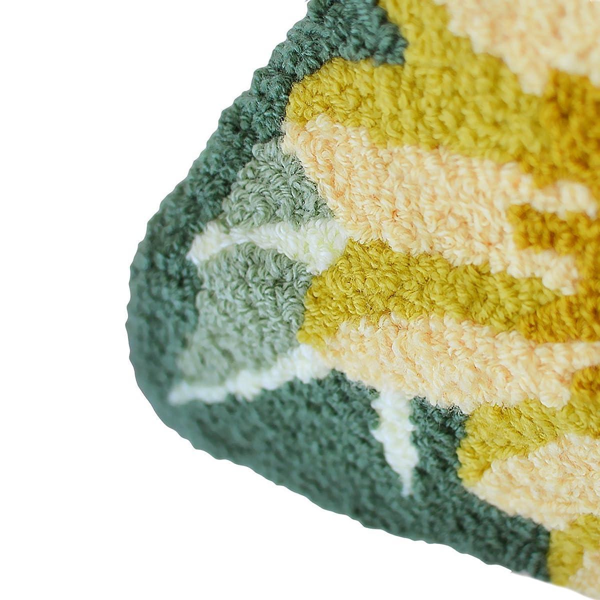 Ustide 3 Sunflower Rugs for Kitchen Handmade Rug Yellow Flower Floor Mat Modern Carpet Washable Non-Slip Bathroom Mat for Bedroom/Foyer 3x2