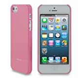 rooCASE Ultra Slim Gloss (Pink) Shell Case for Apple iPhone 5 (Newest iPhone Sept 2012)
