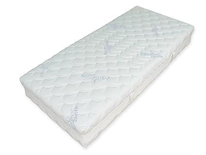 GoodDreams GD1000-902203 orthopädische 7-Zonen Tonnentaschenfederkern-Matratze 1000 Organic Cotton, 90 x 220 cm, H3
