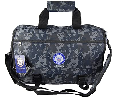 U.S.NAVY Official Licensed Product Military Camo Laptop Messenger Bag