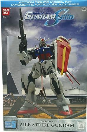 Bandai - Figurine - Gundam Aile strike model kit SKILLS LEVEL 5