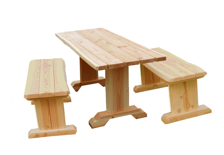 b+t ISG150-N-OL Erwachsenen-Garnitur/ zerlegbar/ aus Douglasie/ ohne Lehne