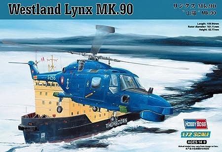 Hobby Boss 87240 Westland Lynx Mk90/95 1:72 Plastic Kit Maquette