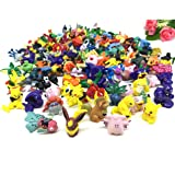 Pokemon Pikaqiu Monster Toy | Set Of 20 | Collectible Action Figure | Randomly Small Gift | Cupcake Toppers For Birthday Party Supplies (Color: Multi-color)