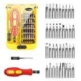 Precision Screwdriver Set with case, GIVERARE 38 in 1 Professional Magnetic Screwdriver Kit,Multi-function Repair Tool Kit with Extension Bar for iPho