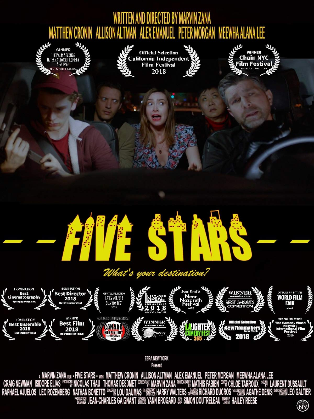Five Stars on Amazon Prime Video UK