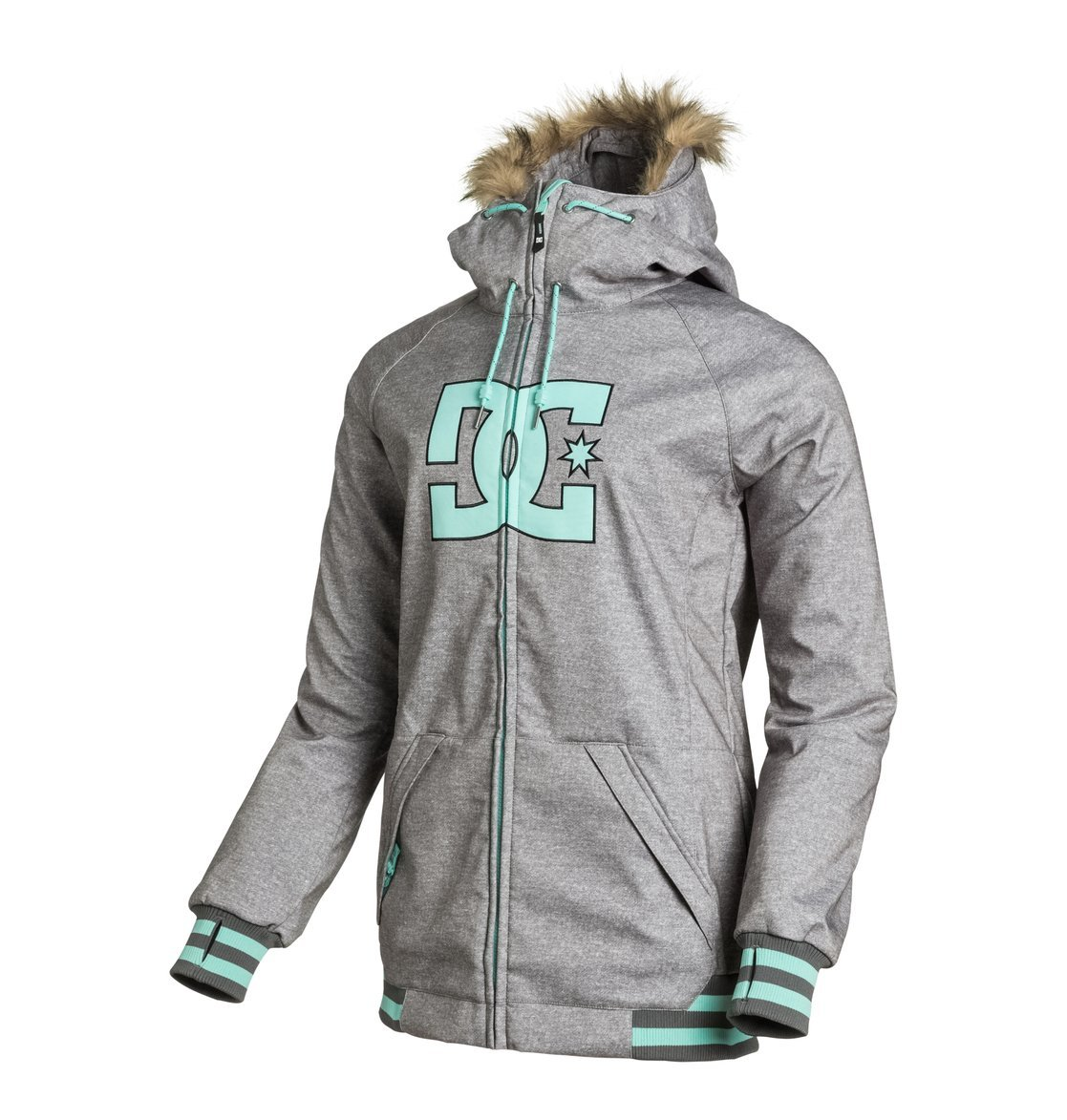 DC Brooklyn Snow Jacket – Anthracite jetzt bestellen