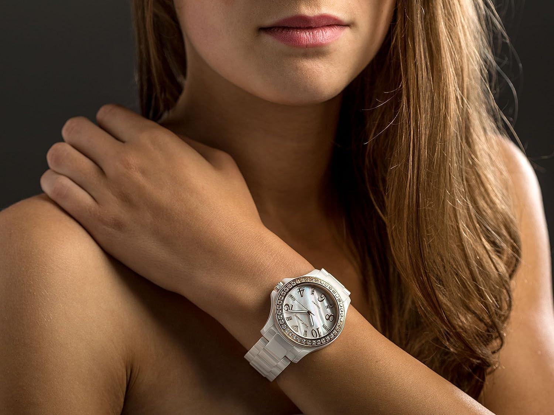 ceas roz auriu 7