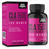 Extra Strength CLA for Women - 1500mg High Potency Natural Weight Loss Supplement - Conjugated Lineolic Acid from Safflower Oil - Non-GMO - Stimulant-Free - 120 Softgels - Sheer Strength Labs