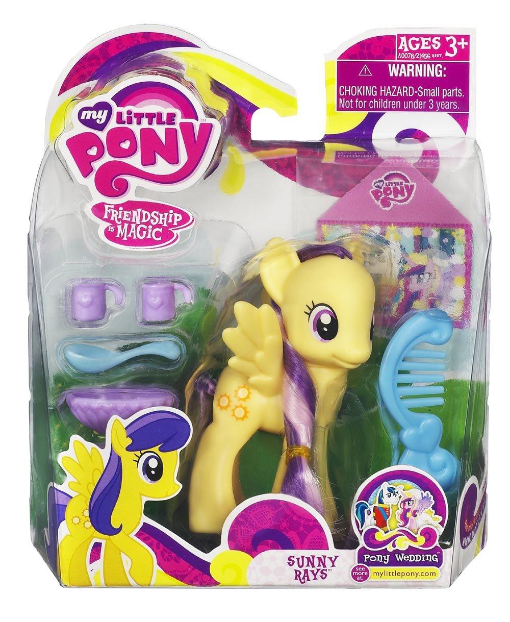 Hasbro Mein kleines Pony Freundschaft ist magisch Figur Sunny Rays als Geschenk