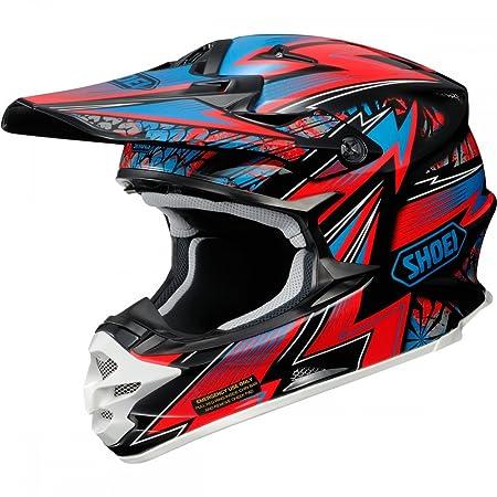Nouveau casque de moto Shoei VFX-W Mael Strom TC1