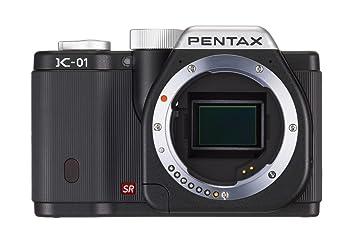 Pentax K-01 Compact hybride Boîtier nu 16 Mpix Noir